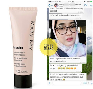 Testimoni Liquid Foundation Mary Kay