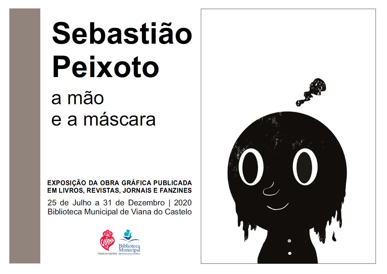 """Exposição - """"""""""""a mão e a máscara"""" por Sebastião Peixoto"""""""""""