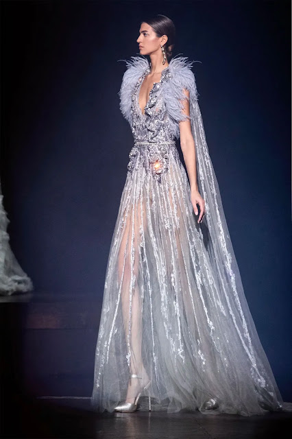 Elie Saab Spring Couture 2021 at London Fashion Week