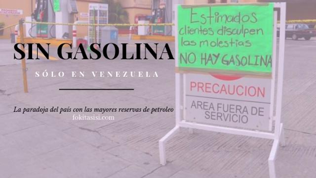 (Imagen) Como era de esperar Maduro argumenta que la escasez de gasolina en Venezuela es producto de una guerra economica por parte de la oposición y de Trump para derrocar al régimen de Maduro en la Venezuela socialista