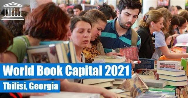 Tiflis capital mundial del libro 2021