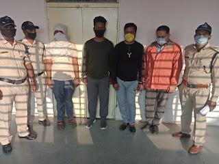 आरबीआई के द्वारा बैन भारतीय करेंसी, 19 लाख 6 हजार रुपये बुरहानपुर पुलिस ने किये जप्त