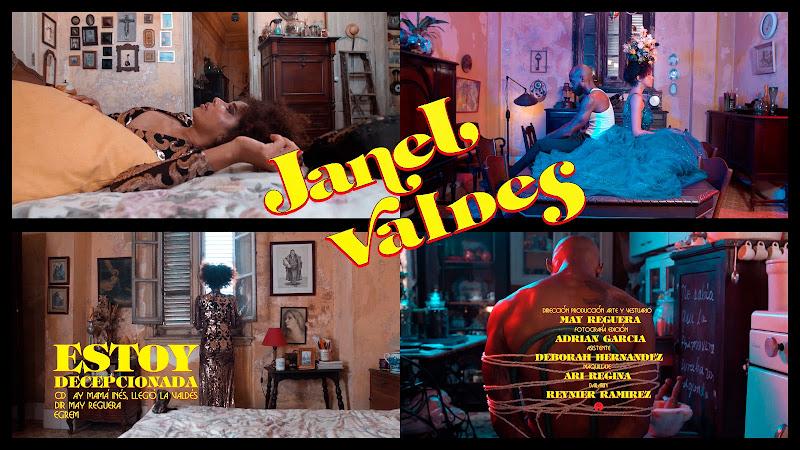 Janet Valdés - ¨Estoy decepcionada¨ - Videoclip - Directora: May Reguera. Portal Del Vídeo Clip Cubano. Música cubana. Bolero. Cuba.