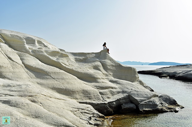 Isla de Milos en Grecia