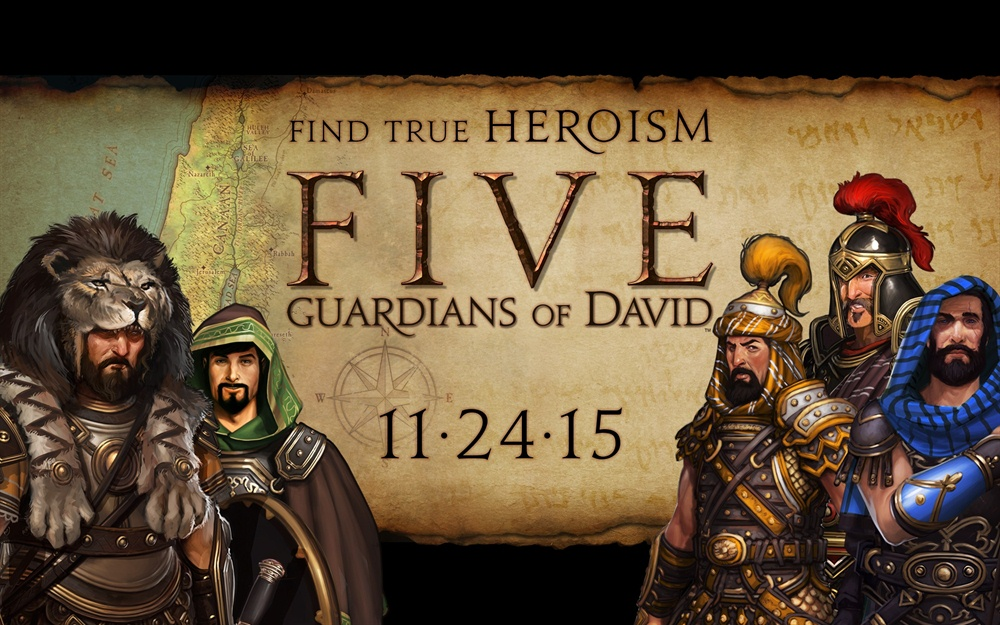 FIVE Guardians of David Download Poster