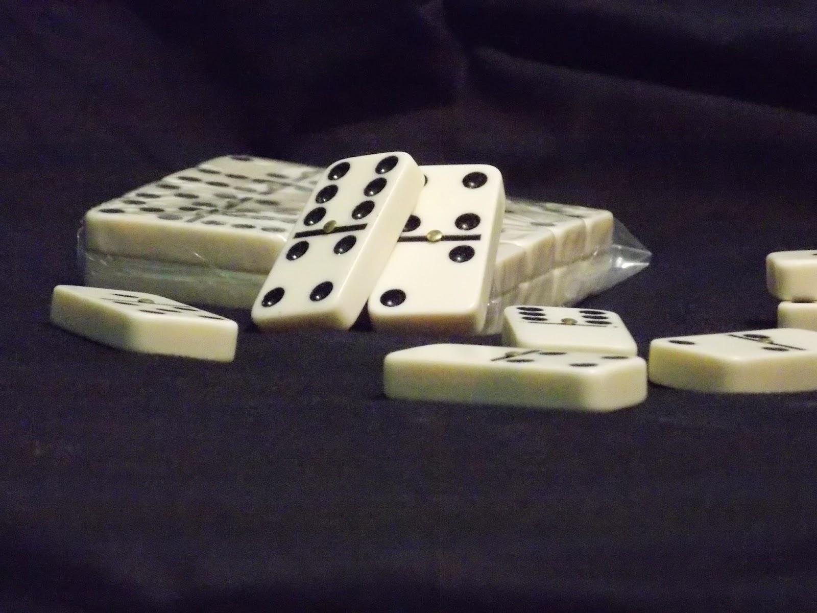piezas dominó domino juego