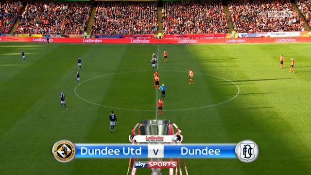 Dundee United vs Dundee FC Biss Key AsiaSat 5 Sabtu, 31 Agustus 2019
