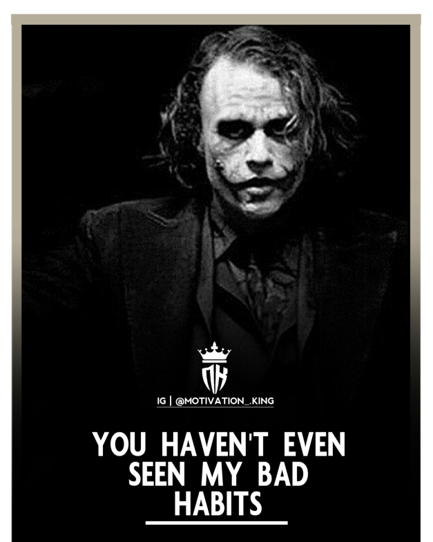 joker Attitude quotes, joker quotes, joker quotes about pain, joker quotes on trust, life is a joker quotes