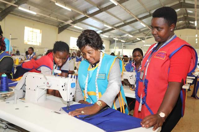 Kitui governor Charity Ngilu at KICOTEC photo