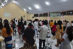 Ibadah Kunci Tahun 2020 Jemaat GPM Saumlaki Patuhi Prokes