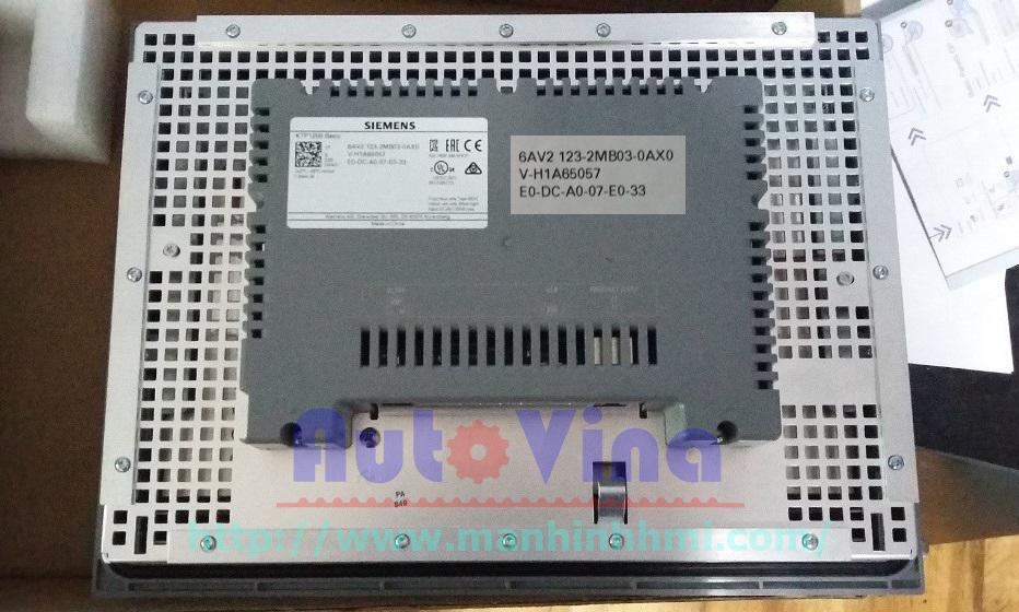 Hình ảnh màn hình SIMATIC HMI KTP1200 BASIC 6AV2123-2MA03-0AX0 hãng Siemens