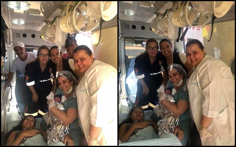Mulher de 23 anos dá à luz em ambulância do Samu de Cajobi