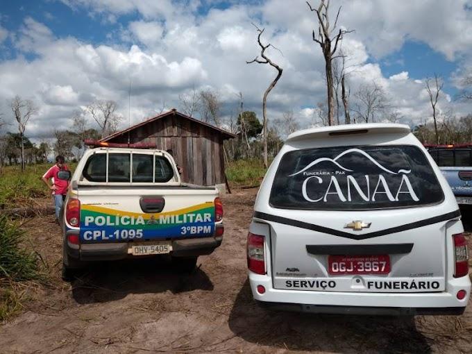 Trabalhador braçal é encontrado morto com corte no pescoço em sítio na região do distrito do Guaporé