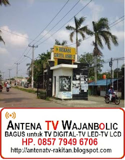 Jual ANTENA TV WAJANBOLIC GRIYA ASRI TAMBUN Bekasi