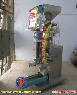 Máy đóng gói đậu phộng da cá, hạt điều Vĩnh Phát chế tạo