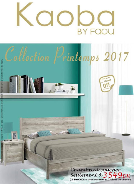 catalogue kaoba printemps 2017