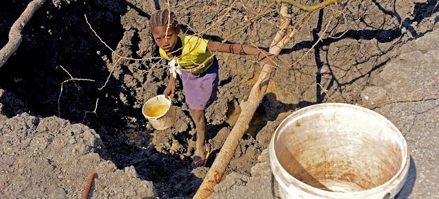 El agua, un recurso que se agota por el crecimiento de la población y el cambio climático