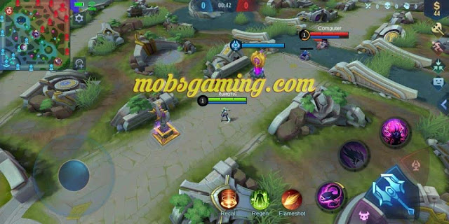 Drone View Mobile Legends