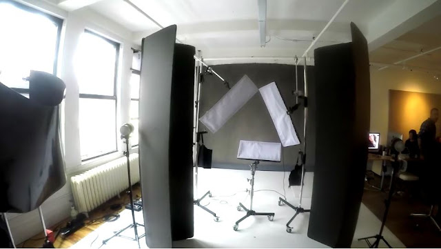 Personal interview in Peter  Hurley's Manhattan studio by The Feather staff