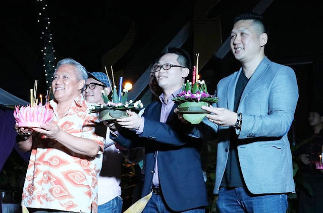 Launching Of The RAMA V Party With Andre Shum (right) & Datuk Chef Wan (left)