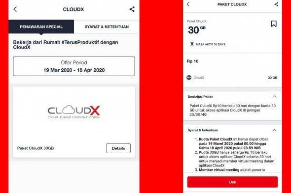 Cara Mendapatkan Paket CloudX Telkomsel