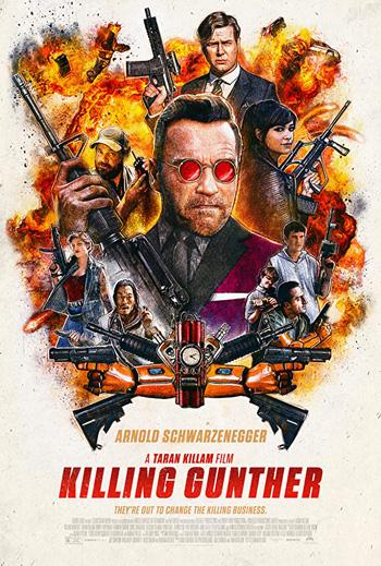 Killing Gunther 2017 Dual Audio ORG Hindi 720p BluRay 800MB DD5.1Ch ESubs poster