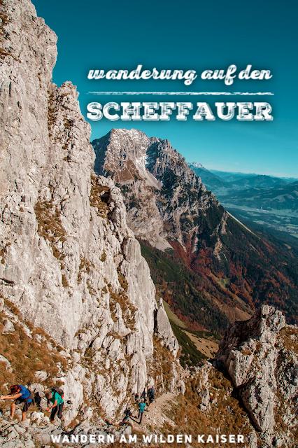 Bergtour Scheffauer  Wandern Wilder Kaiser  leichter Gipfel im Wilden Kaiser  Wandern-Tirol 20