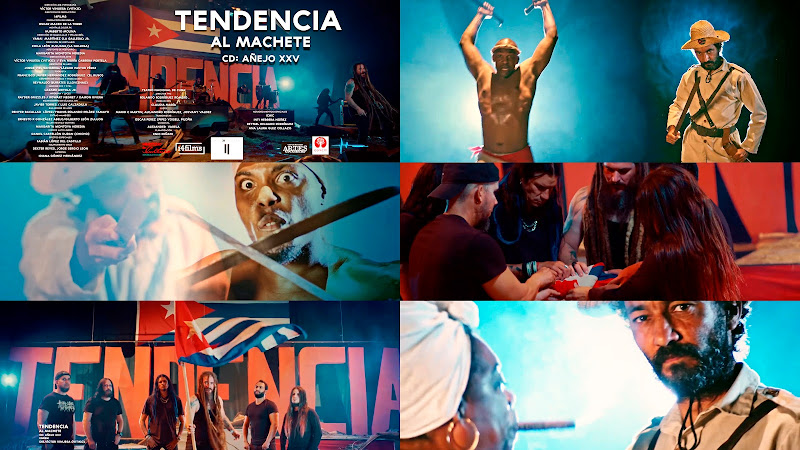Tendencia - ¨Al Machete¨ - Videoclip - Director: Víctor Vinuesa (Vitiko). Portal Del Vídeo Clip Cubano. Música rock cubana. Metal. Heavy. CUBA.