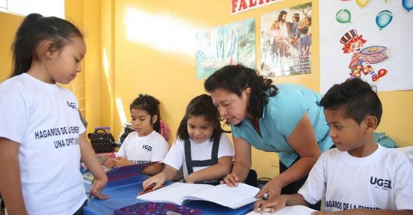 Ministerio de Educación anuncia más de 14 mil plazas para encargatura 2019 (Listado Nivel Nacional)