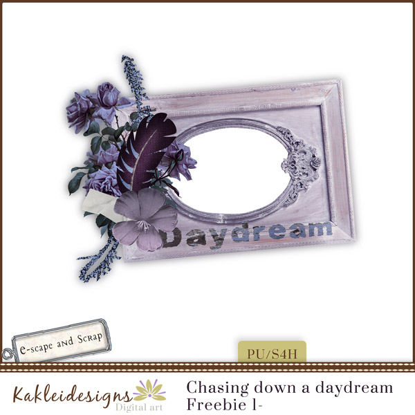 FREEbie #1 - Chasing Down a Daydream from Kakleidesigns