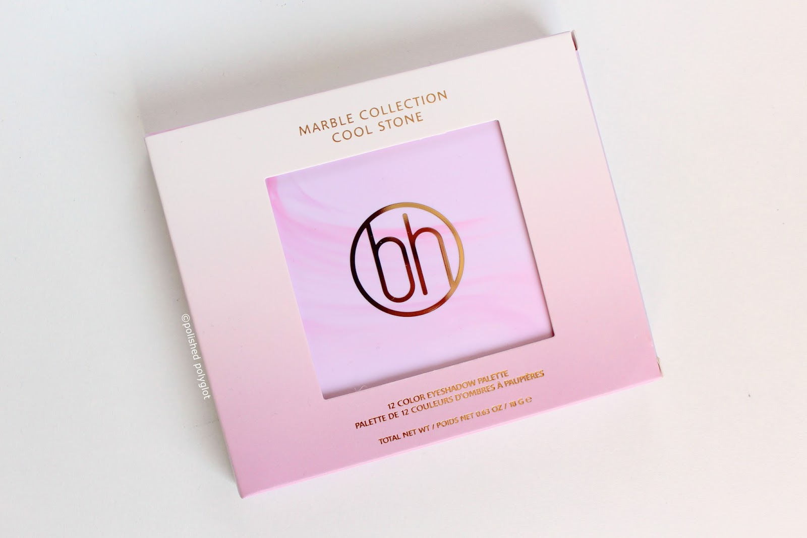 Makeup │bh Cosmetics Marble Collection Cool Stone Motd