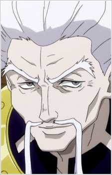 top badass old man in anime