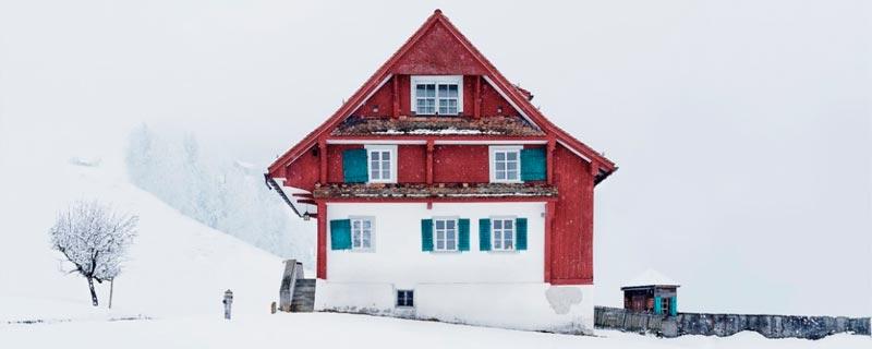 Arquitectura invernal suiza de Patrick Lambertz
