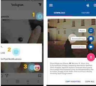 Aplikasi download video Instagram