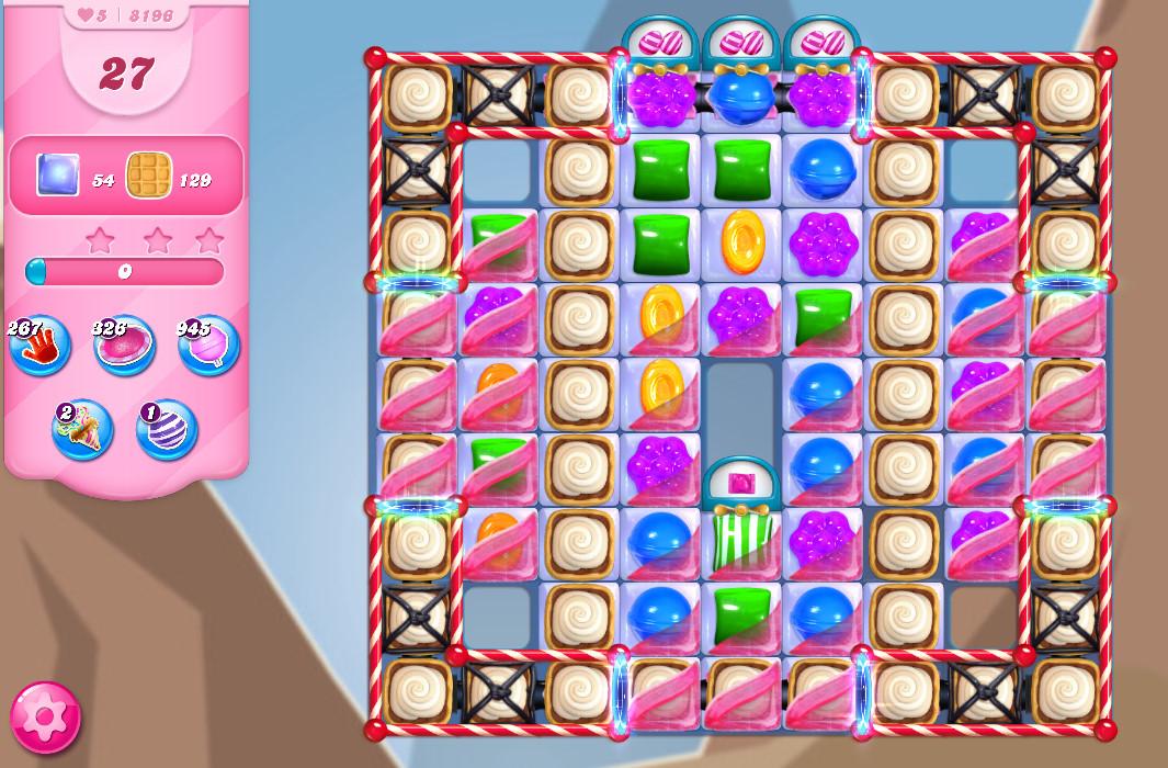 Candy Crush Saga level 8196