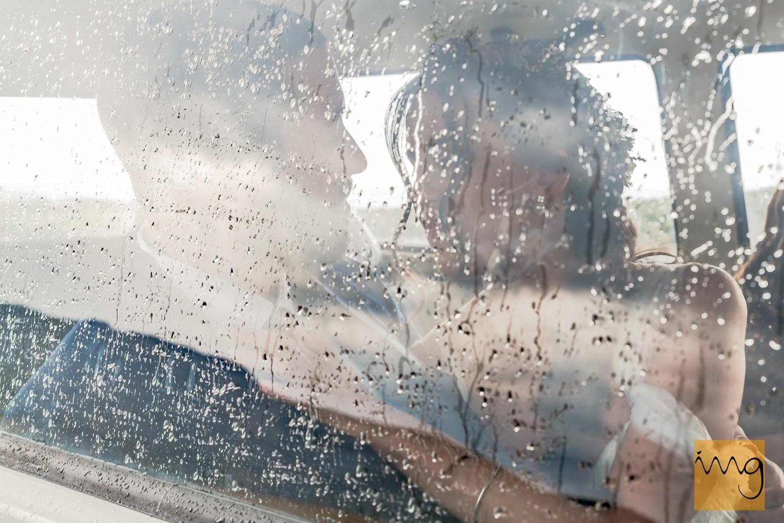 Reportajes de boda bajo la lluvia
