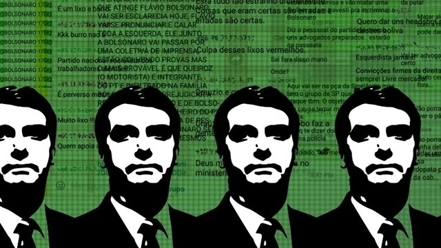 A rede de desinformação que espalhou notícias falsas (fake news) e deturpadas pró-Bolsonaro pelo aplicativo WhatsApp durante as eleições