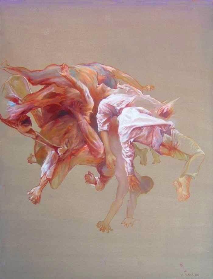 Американский художник. Ben Gin