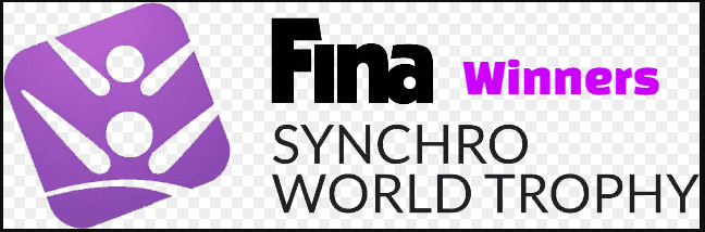 FINA Synchronized Swimming World Trophy, history, scores, finals, results, champions
