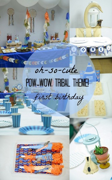 American Tribal Party Birthday Themes For Boys