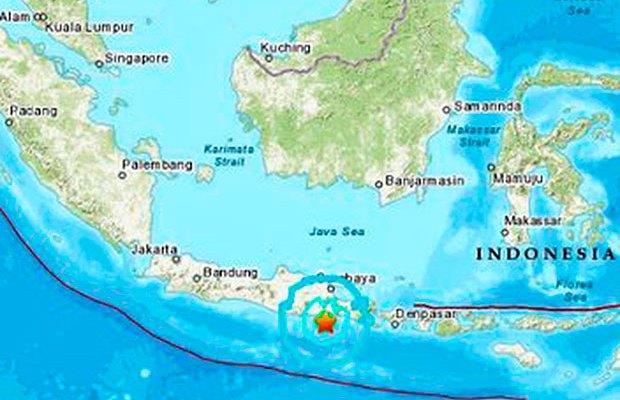 Terremoto de magnitud 6 sacudó este sábado el sureste de Indonesia: emiten alerta de tsunami