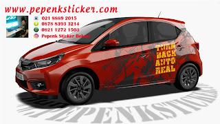 Mobil,Honda brio,Cutting Sticker,Digital printing,Cutting Sticker Bekasi,sticker mobil,jakarta,Bekasi,