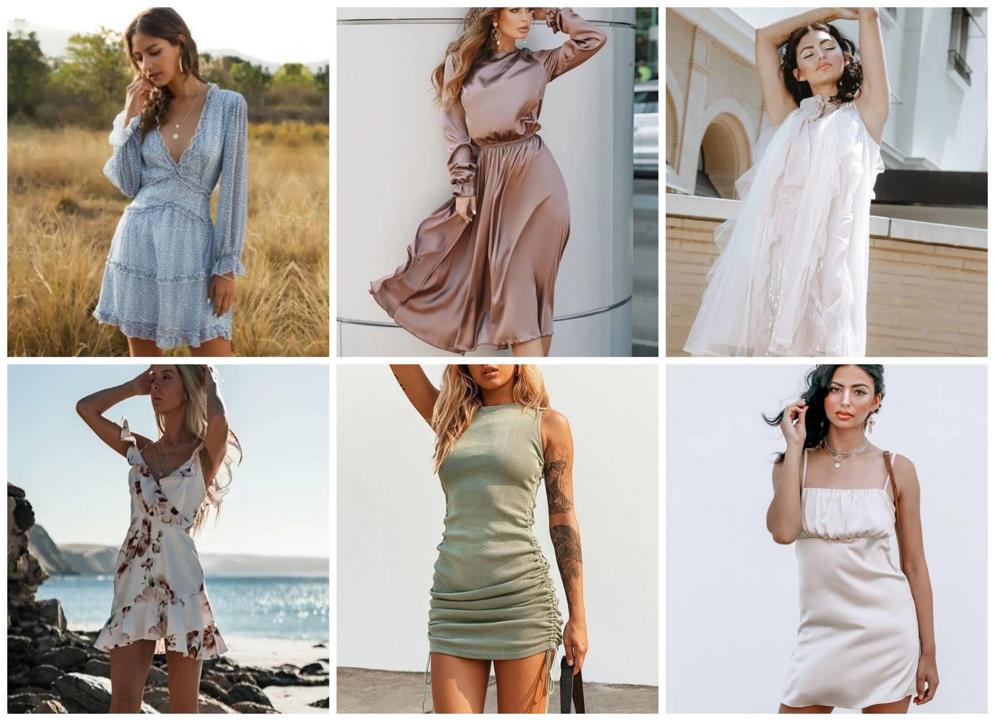 cute women's summer dresses