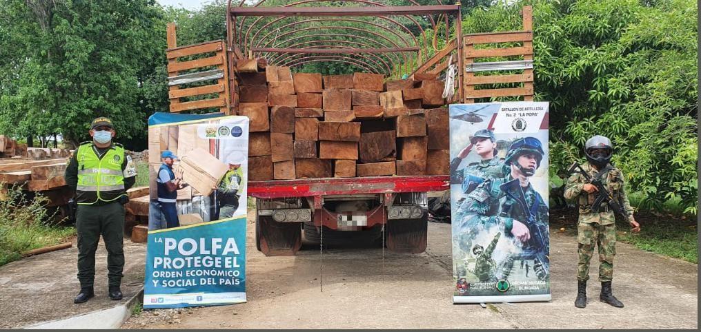 hoyennoticia.com, Se incautaron $97 millones en madera Algorrobillo