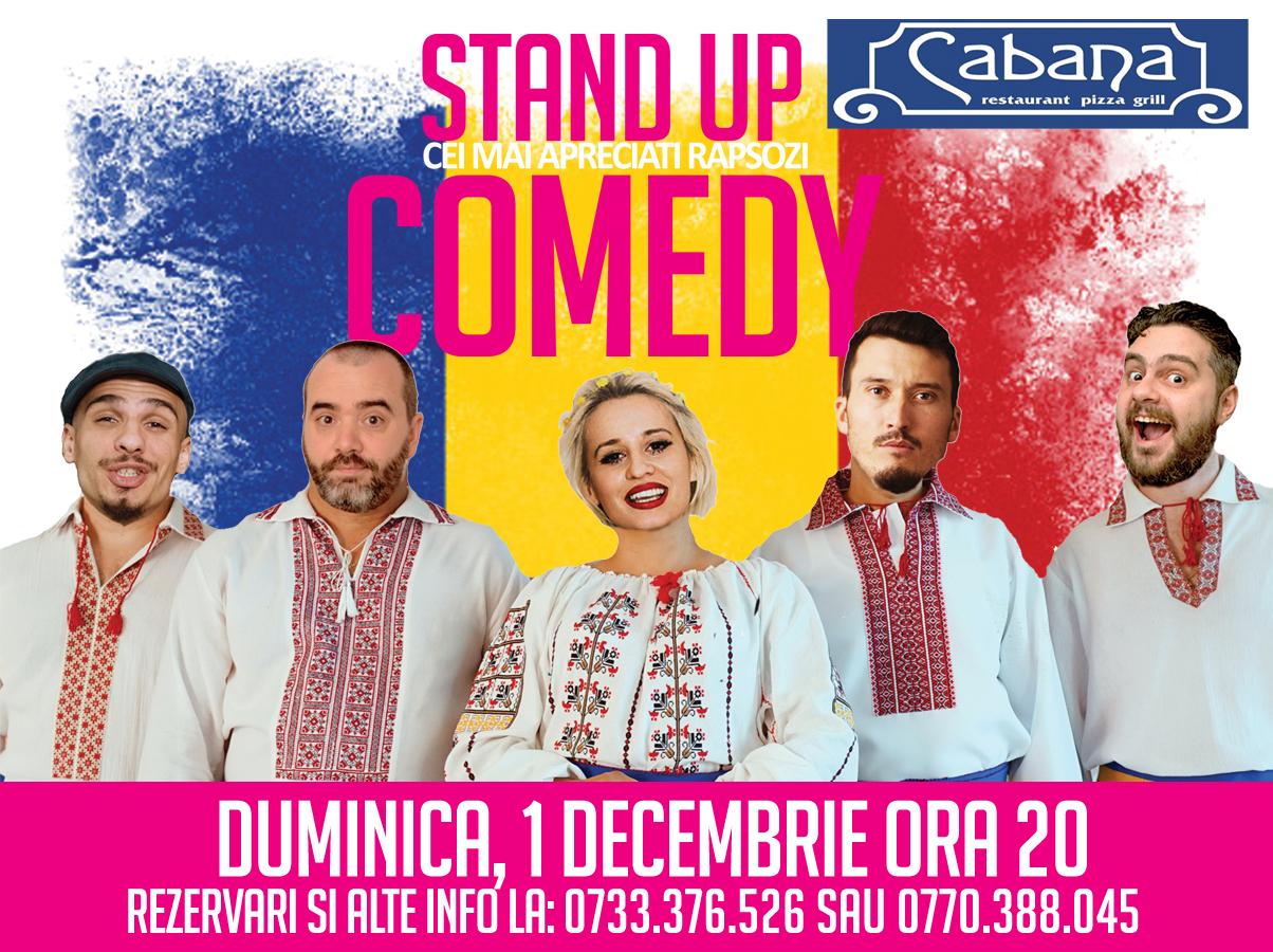 Stand-Up Comedy Duminica seara in Bucuresti (1 decembrie 2019)