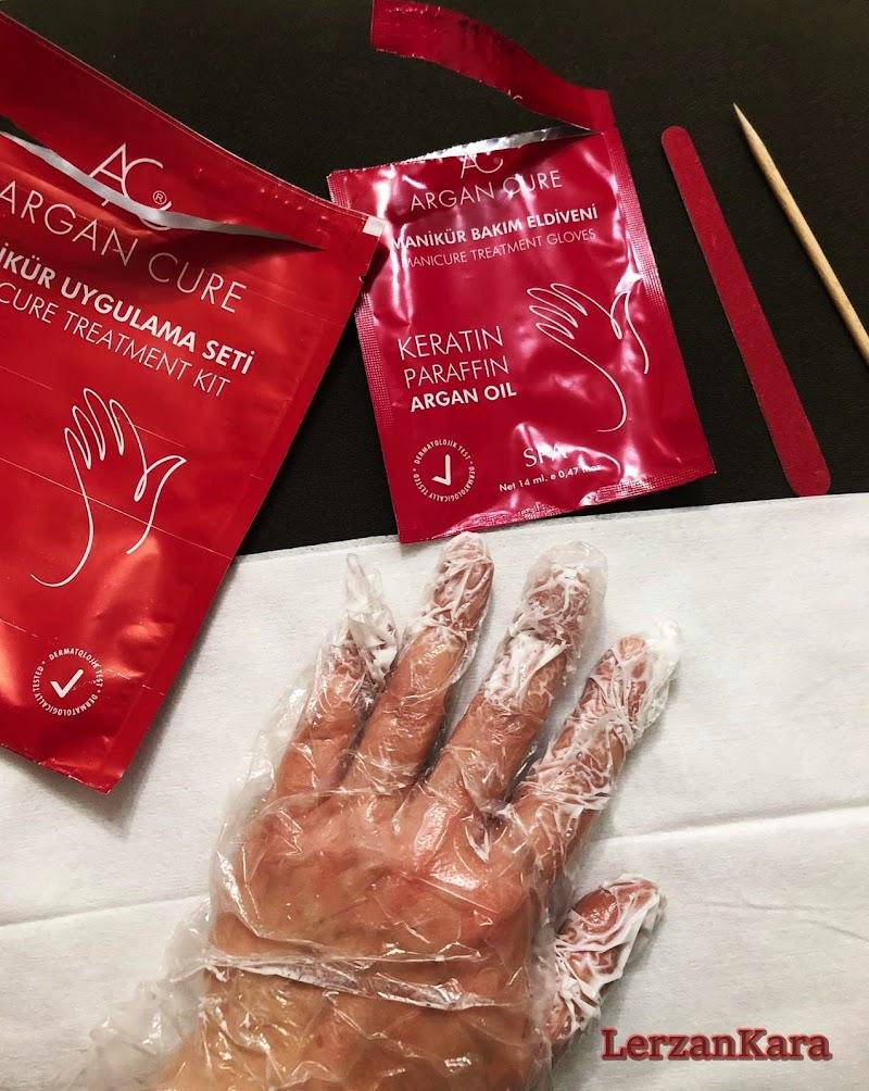 Pratik El Bakımı için Argan Cure Manikür Uygulama Seti