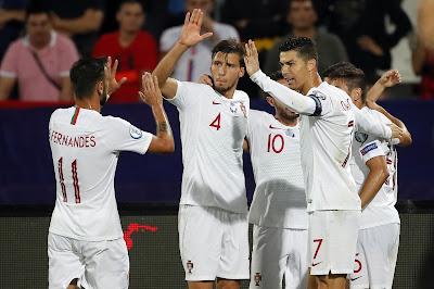 مشاهدة مباراة البرتغال وليتوانيا بث مباشر اليوم 10-9-2019 في تصفيات اليورو 2020