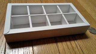 Kotak | Box coklat isi 8 (4x2)