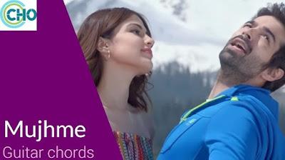 MUJHME guitar chords Female Version | Jalebi | Shilpa Rao