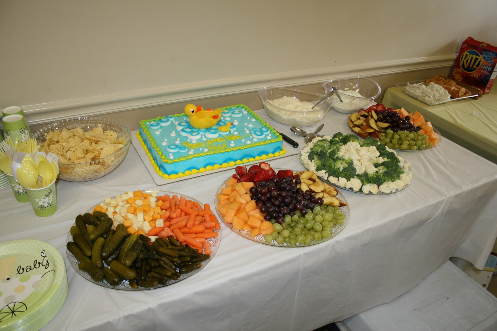 easy party food baby shower - photo #12